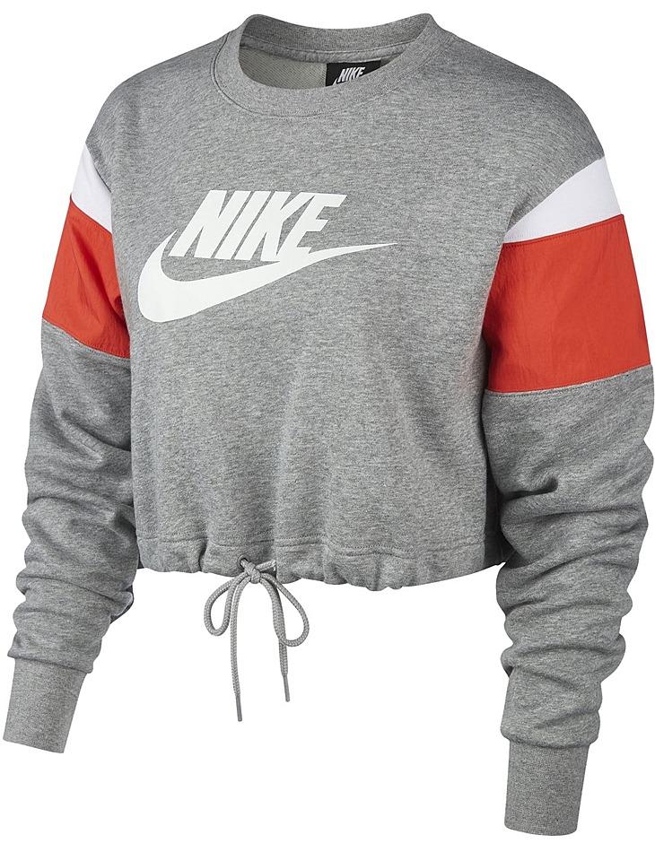 Dámska bavlnená mikina Nike vel. L