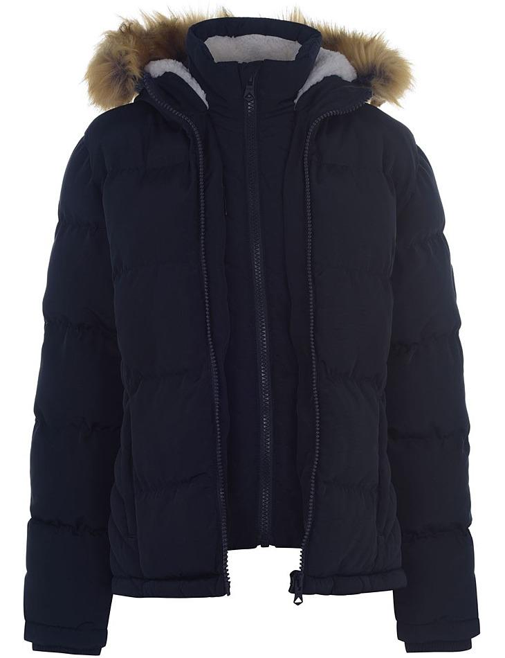 Dámska zimná bunda SoulCal vel. XXXL