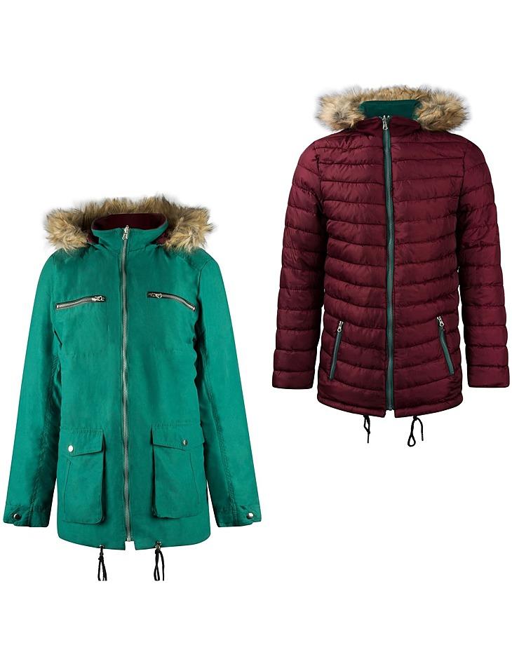 Pánska zimná bunda s kapucňou Lee Cooper vel. XL