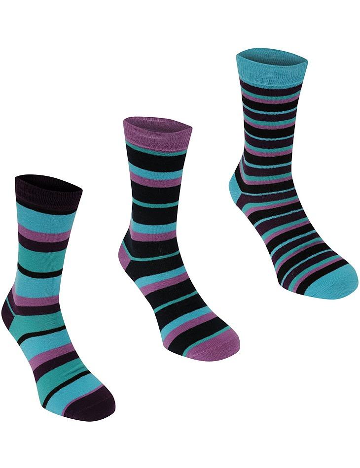 Dámske ponožky pruhované vel. Ladies 4-8