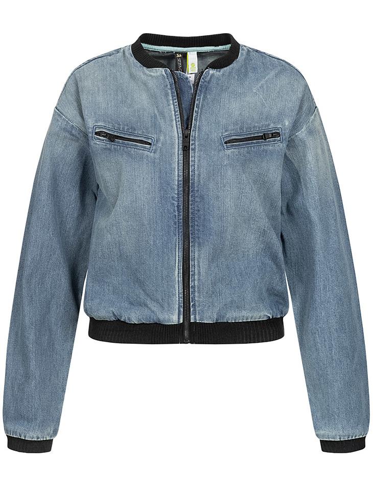 Dámska džínsová bunda Adidas x Selena Gomez vel. S