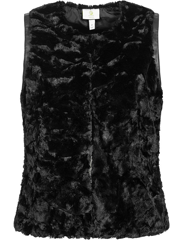 Dámska vesta z umelej kožušiny Adidas vel. XL