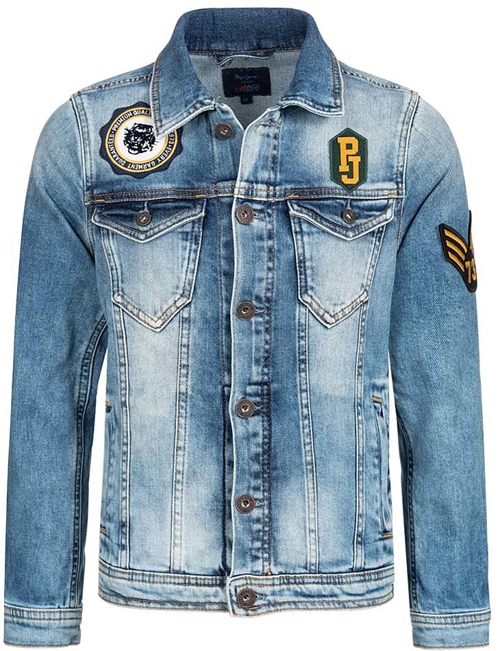 Detská džínsová bunda vel. 152