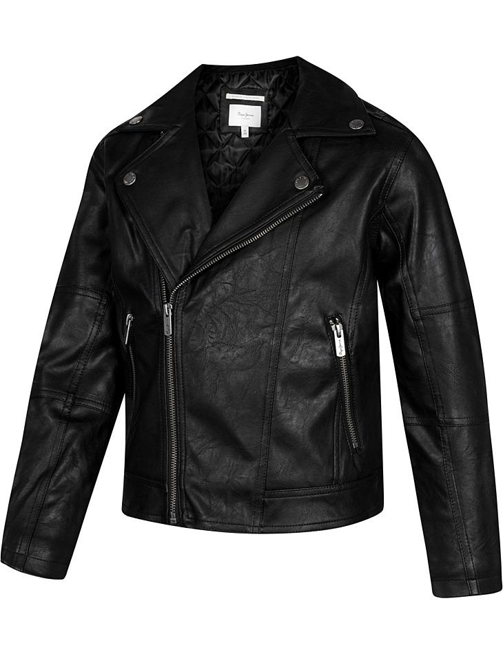 Detská bunda čierna vel. 152