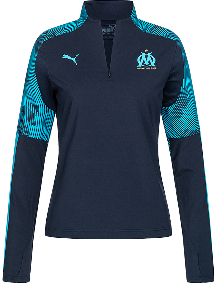 Dámska tréningová mikina Olympique Marseille PUMA vel. L