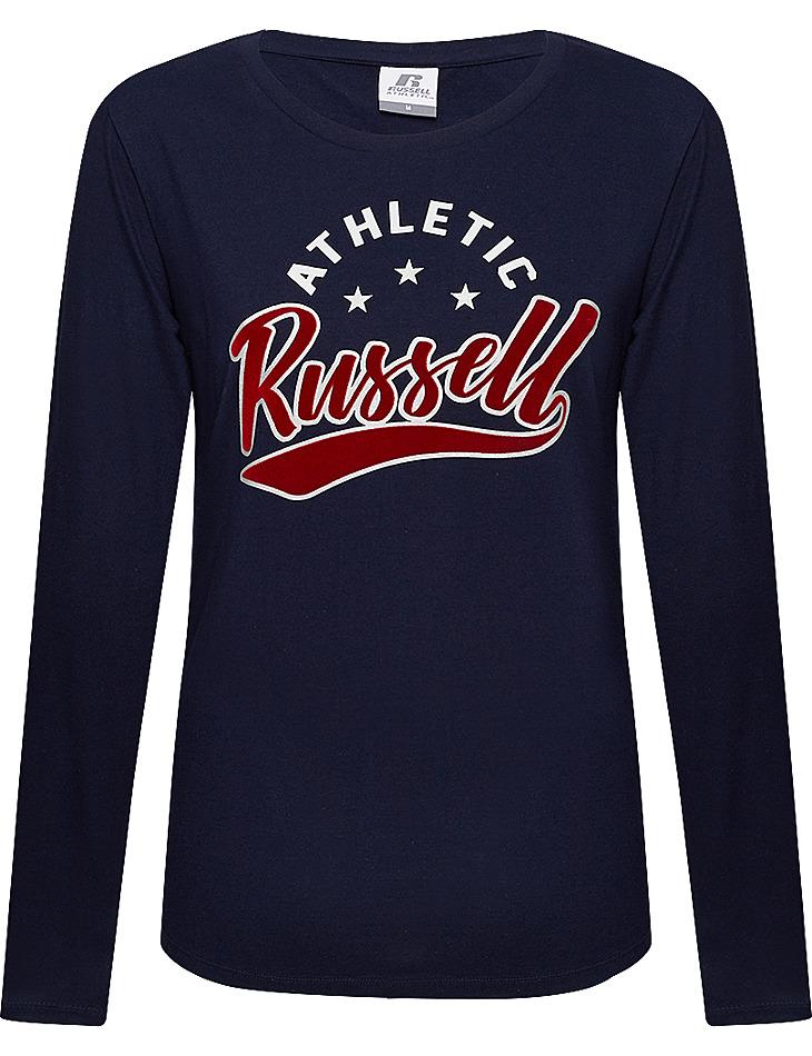 Dámske tričko s dlhým rukávom RUSSELL vel. S