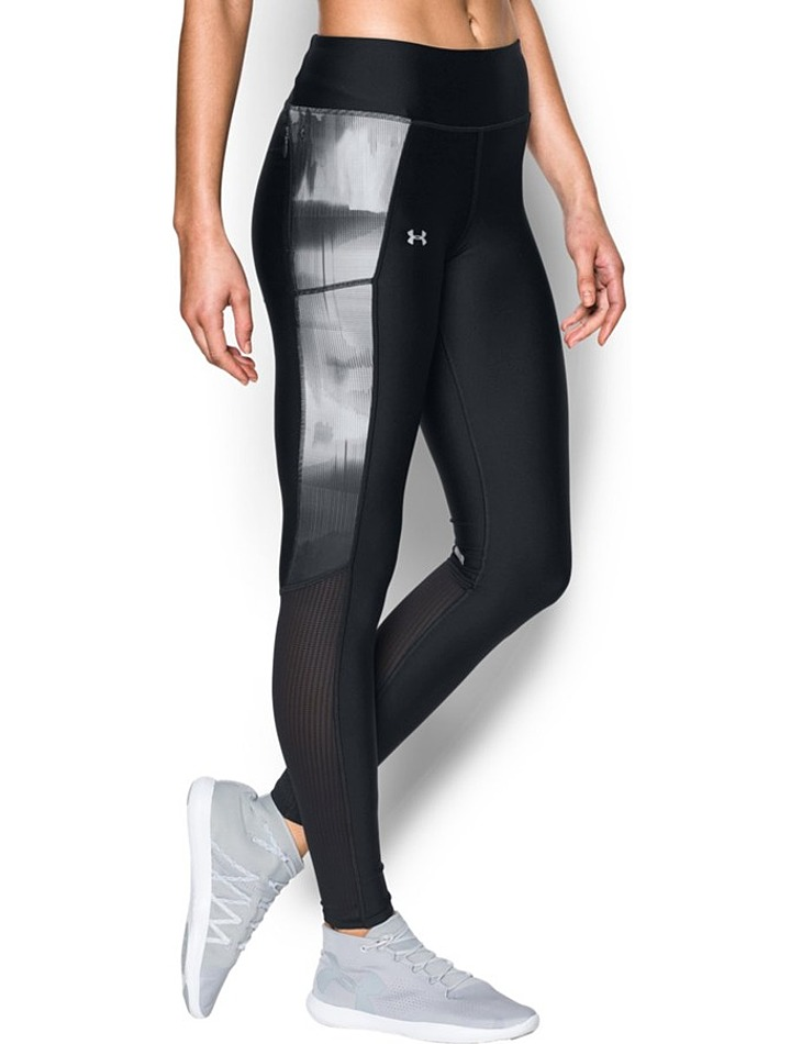 Dámske kompresné legíny Under Armour Fly By Printed Legging vel. XS
