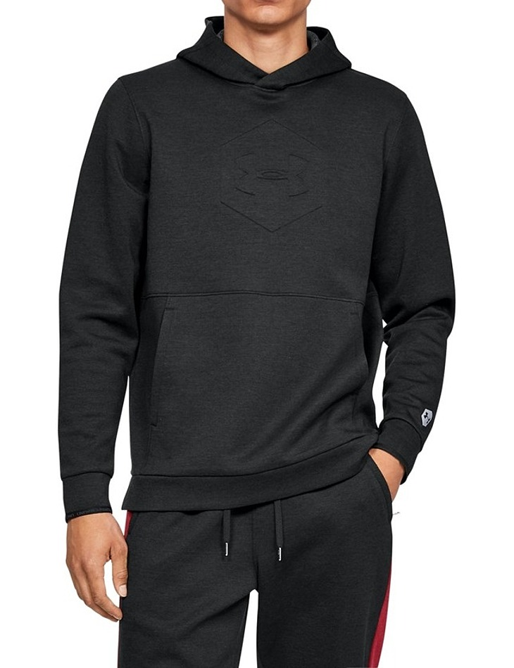Pánska mikina Under Armour Athlete Recovery Fleece Graphic Hoodie vel. S