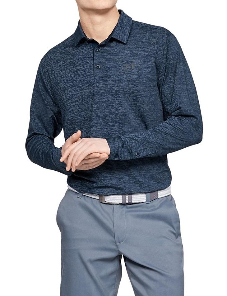Pánske tričko s golierikom Under Armour Long Sleeve Playoff 2.0 Polo vel. L