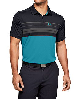 Pánske tričko s golierikom Under Armour Vanish Chest Stripe Polo