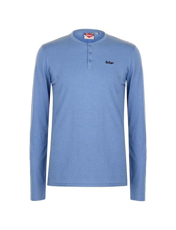 92fe5a84e9a0 Pánske tričko s dlhým rukávom Lee Cooper