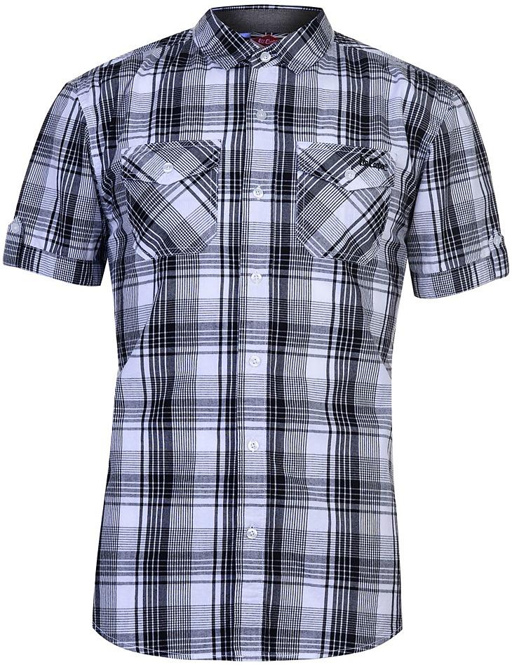 Pánska károvaná košeĺa Lee Cooper vel. L