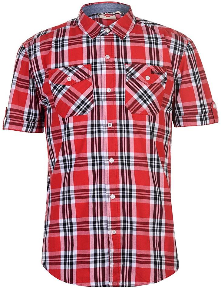 Pánska károvaná košeĺa Lee Cooper vel. XXL