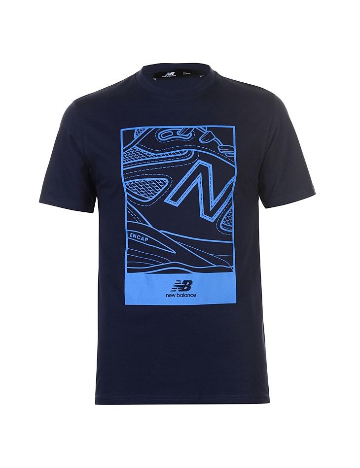Pánske štýlové tričko New Balance  6cd82727ba
