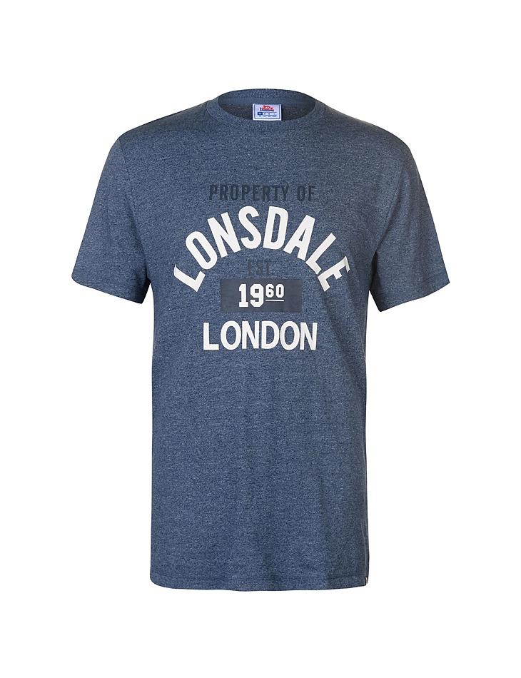 18aab3401549 Pánske štýlové tričko Lonsdale