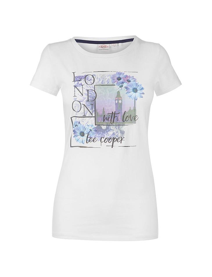 18f3d4416 Pánske štýlové tričko Lee Cooper | Outlet Expert
