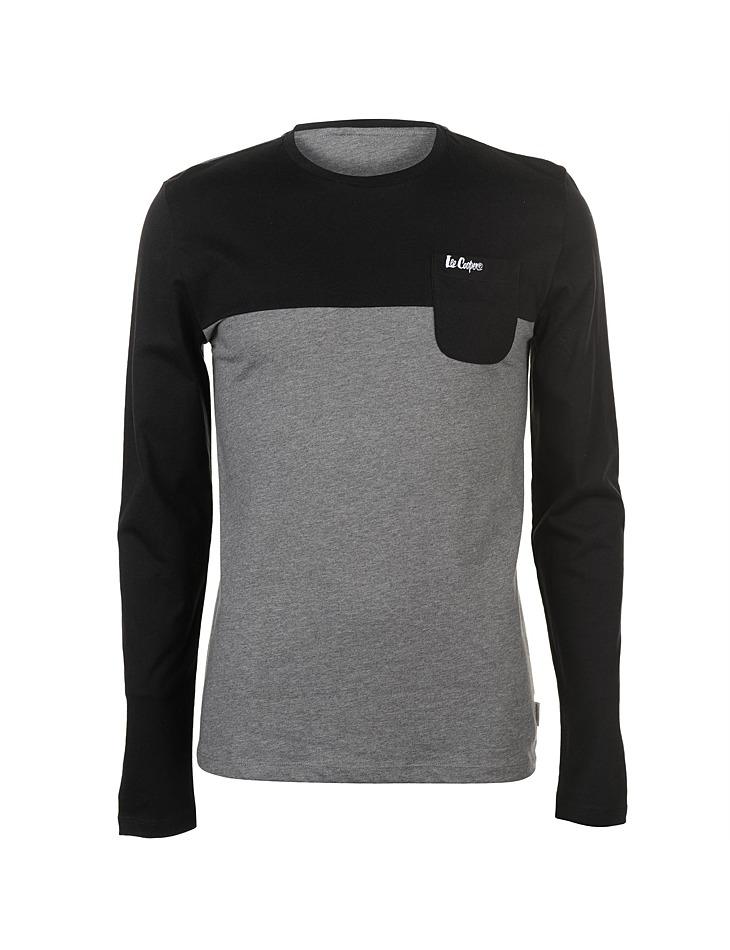 55a4aacec Pánske voĺnočasové tričko s dlhým rukávom Lee Cooper | Outlet Expert