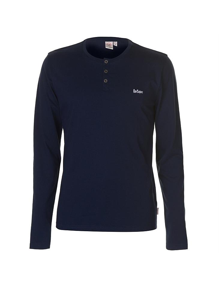 882e7387ad91 Pánske módne tričko s dlhým rukávom Lee Cooper