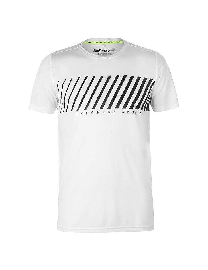 8e20c1e94425e Pánske športové tričko Skechers   Outlet Expert