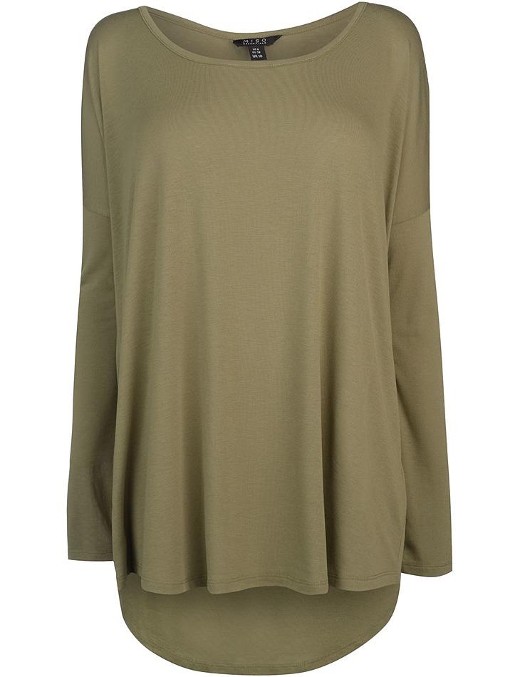 57f034259a5e Dámske predĺžené tričko Miso
