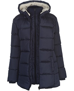 Dámska predĺžená zimná bunda Lee Cooper b30d0d5385f