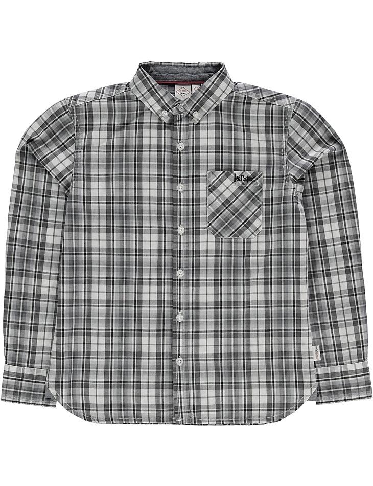 Chlapčenská štýlová košeĺa Lee Cooper vel. 11 - 12 rokov, 146 - 152 cm