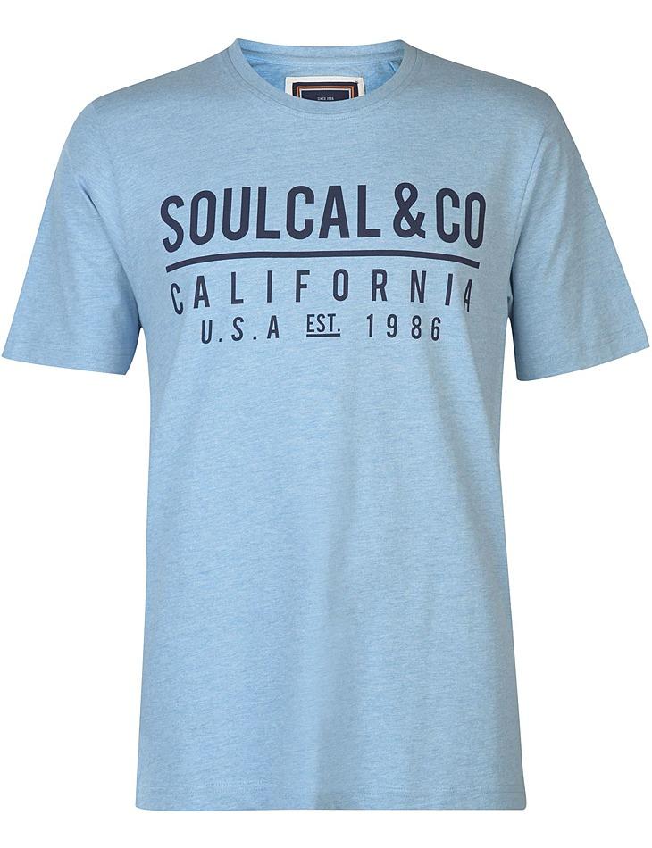 Pánske voĺnočasové tričko SoulCal vel. L