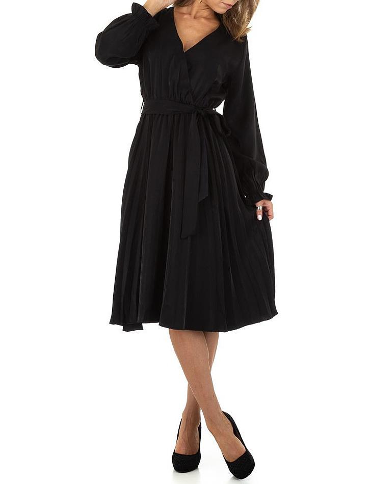 Dámske čierne elegantné šaty vel. S/36