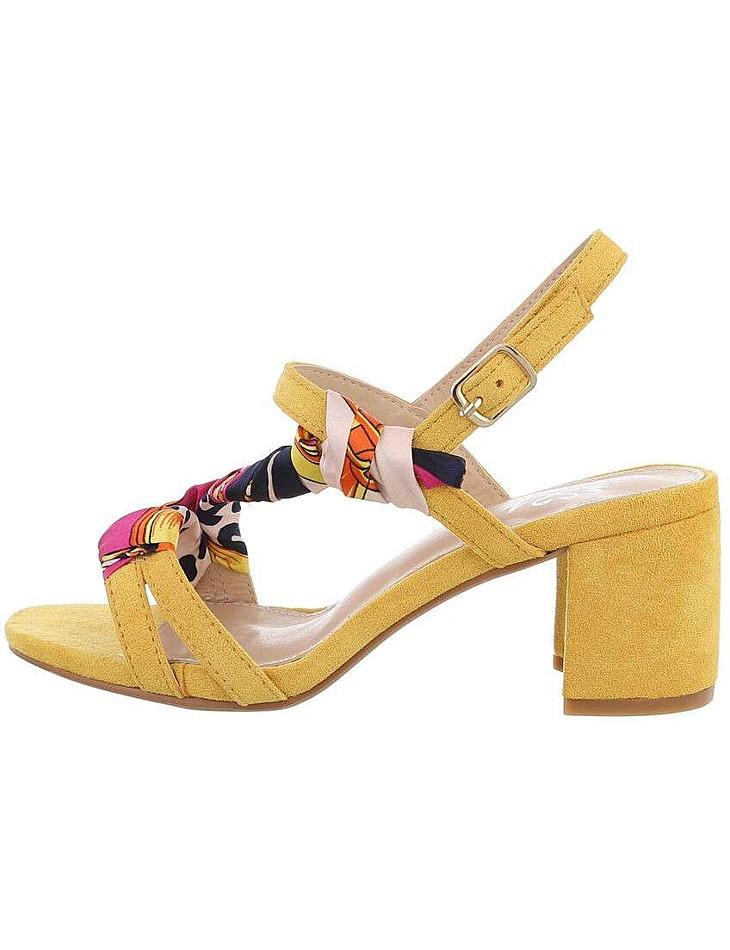 Dámske sandále na podpätku vel. 38