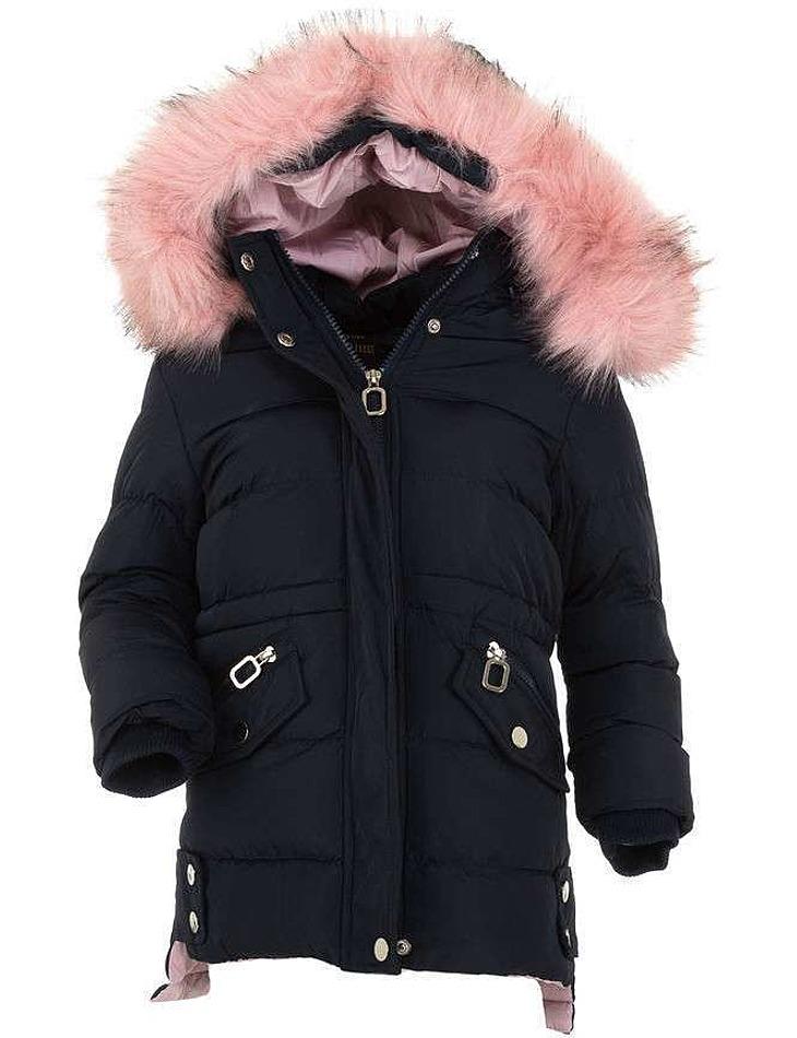 Dievčenské bunda Nature - čierna vel. 110