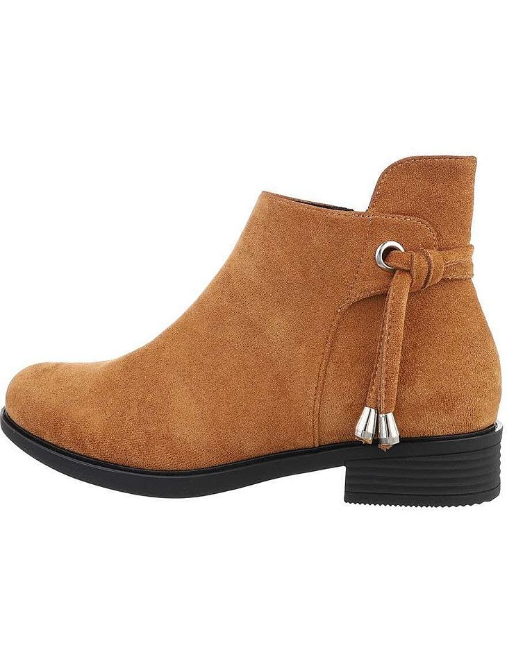 Dámske semišové členkové topánky vel. 38