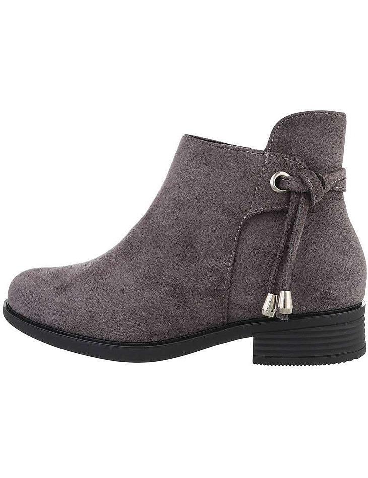 Dámske semišové členkové topánky vel. 37