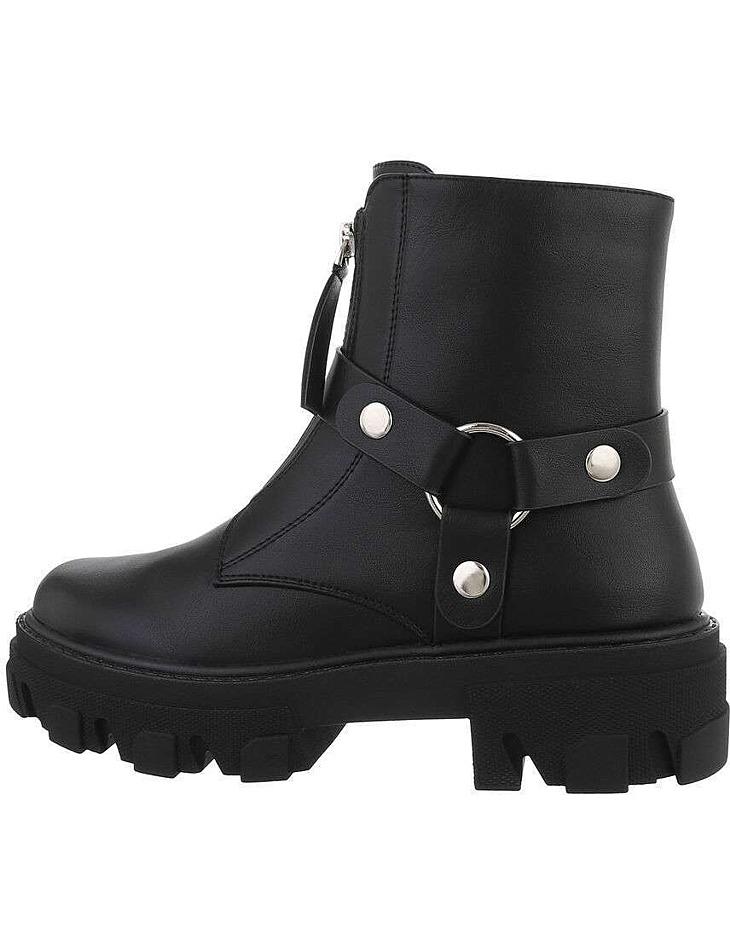 Dámske štýlové členkové topánky vel. 37
