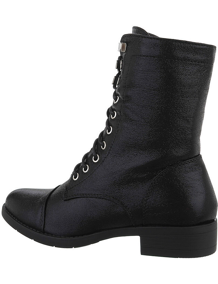 Dámske šnurovacie členkové topánky vel. 37