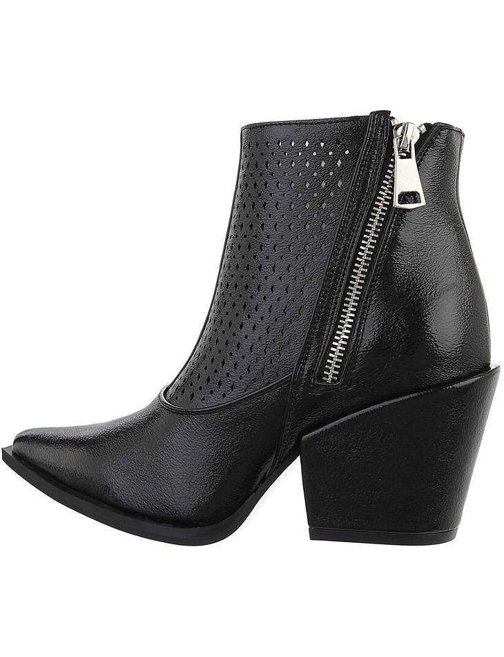 Dámske klinové členkové topánky vel. 38