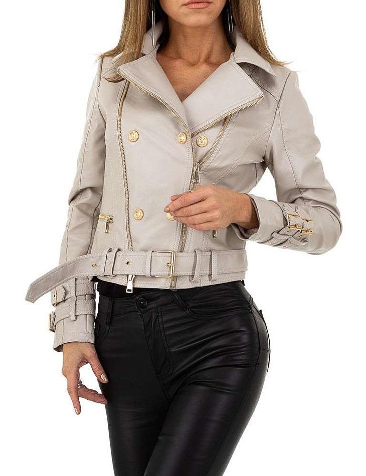 Dámska koženková bunda Noemi Kent vel. XL/42