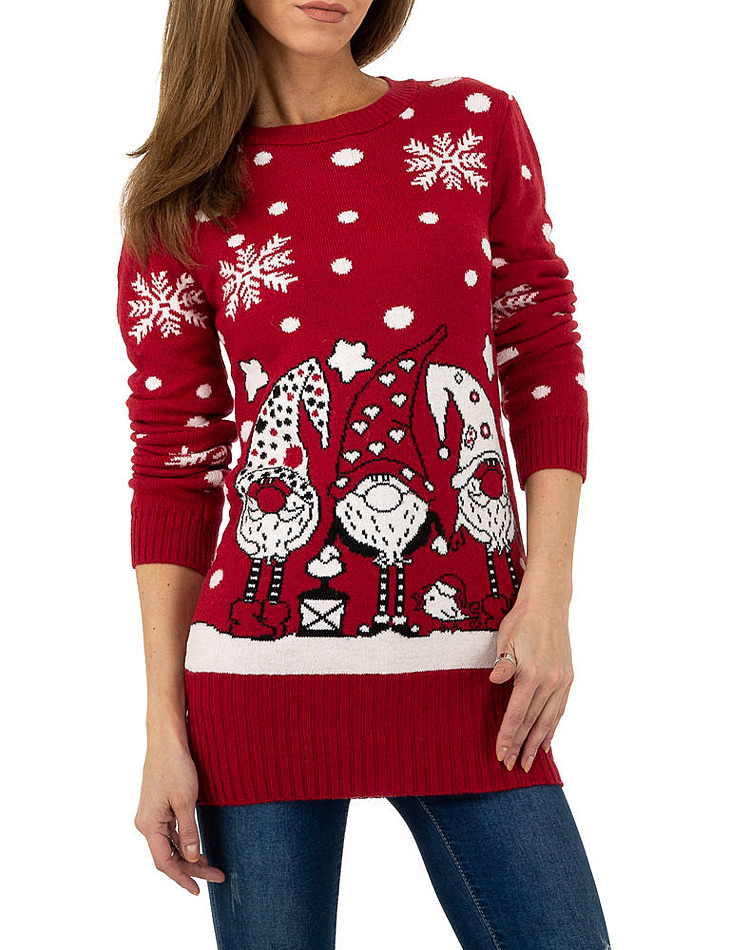 Dámsky Vianočné pulóver Metrofive vel. S/M