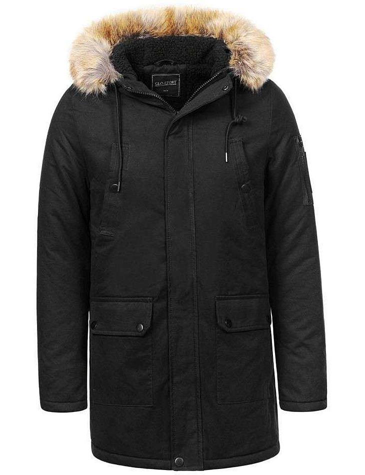 Pánska bunda zimná vel. 56/58/XL