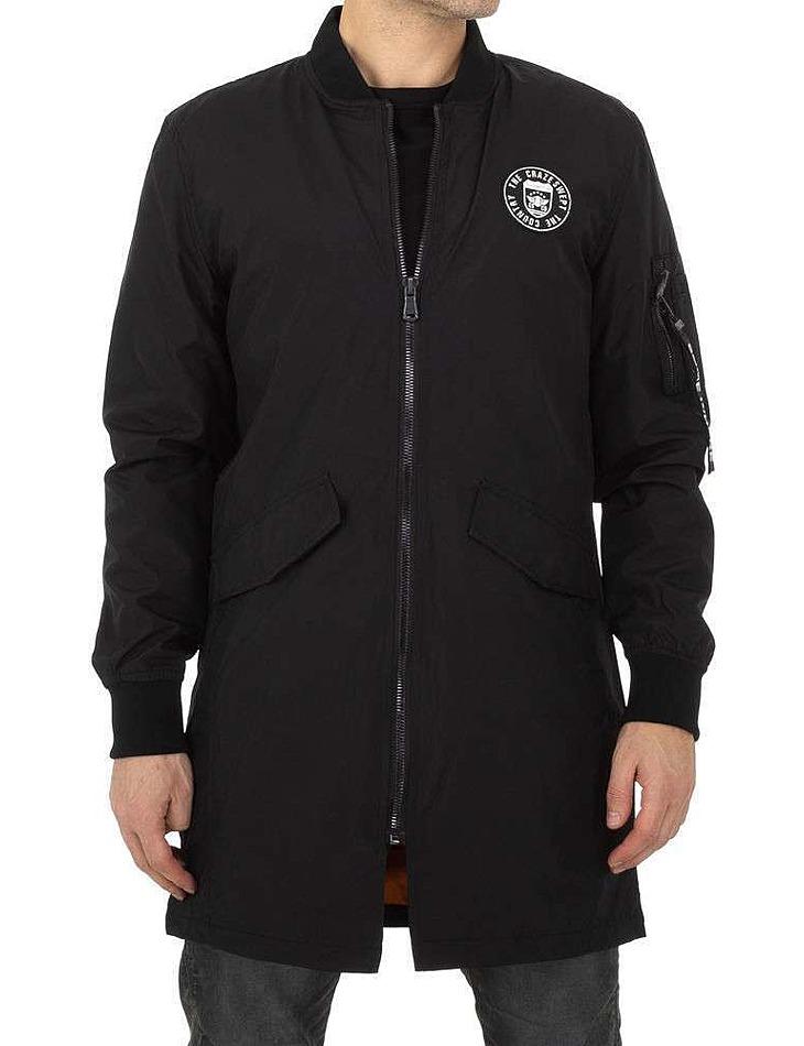 Pánska bunda čierna vel. 56/58/XL