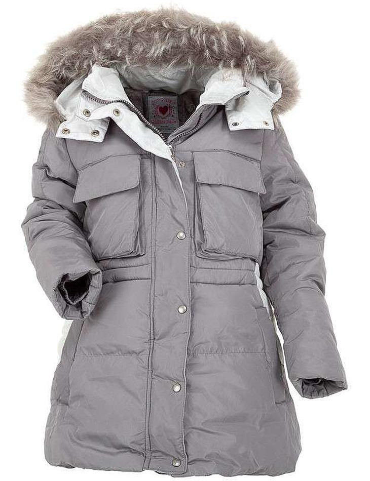Dievčenská zimná bunda vel. 140