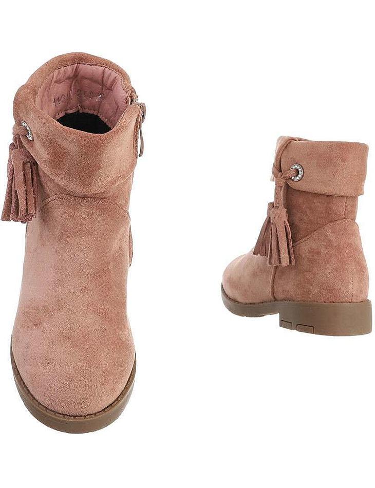 Detské členkové topánky - ružové vel. 24