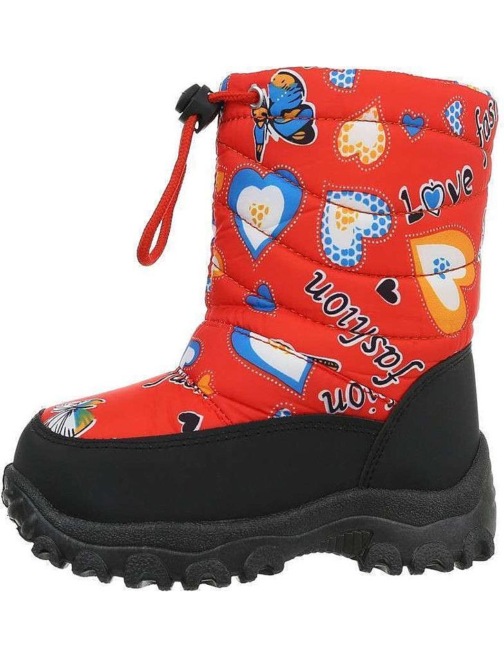 Detské členkové topánky - snehule vel. 22