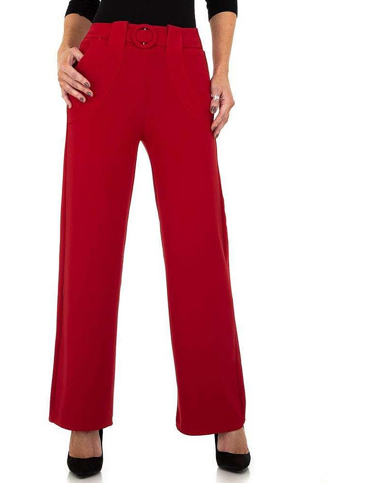 Dámske nohavice Minilady - červené vel. L/XL
