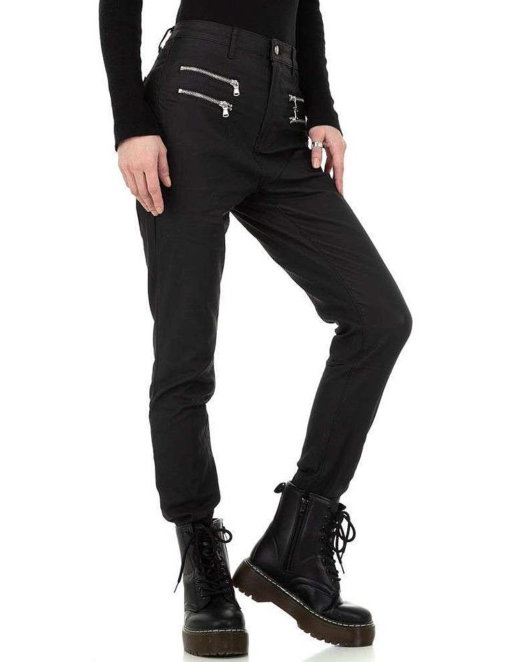 Dámske koženkové nohavice vel. XXL/44