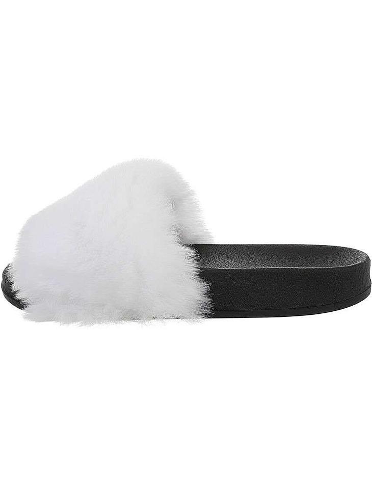 Dámske chlpaté papuče vel. 39
