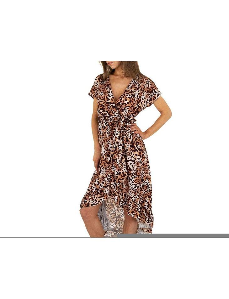 Dámske letné šaty vel. 6 Stück in beige. Size: S-M-L