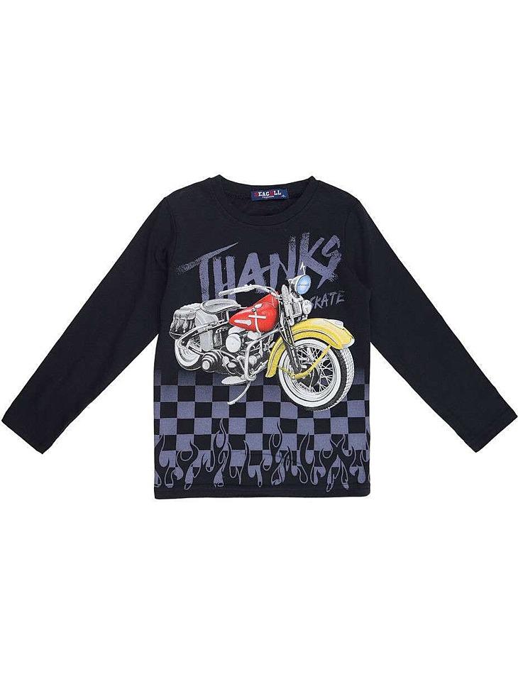 Chlapčenské tričko s dlhým rukávom vel. 116