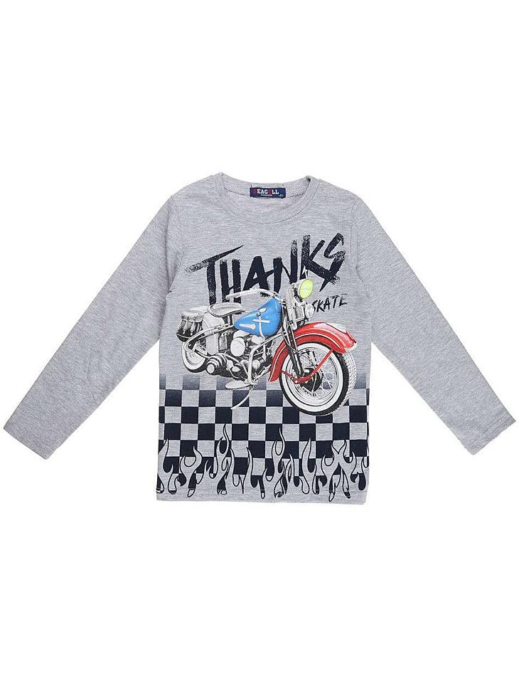 Chlapčenské tričko s dlhým rukávom vel. 104