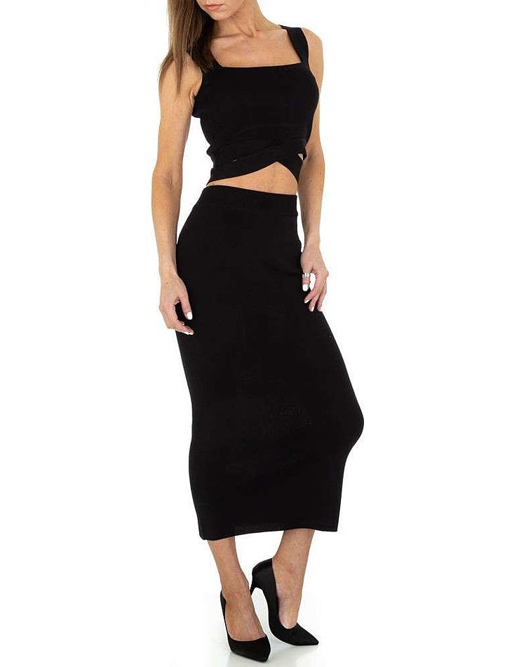 Dámske sexy šaty vel. 6 Stück in black. Size: S/M-M/L