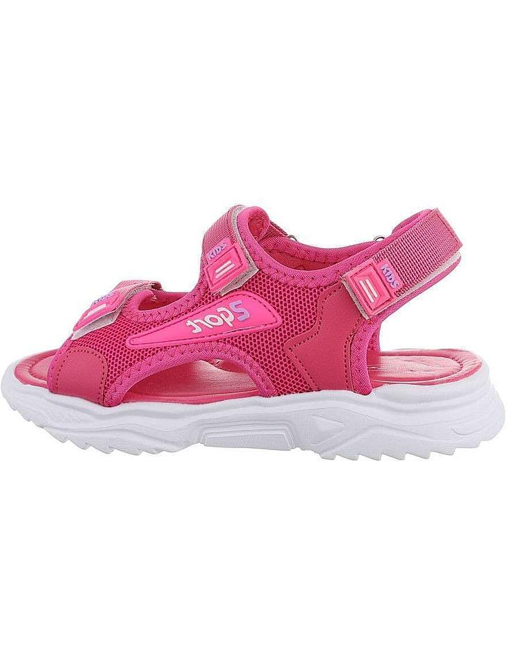 Detské farebné sandále vel. 26